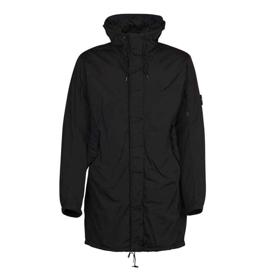 CP Company Outerwear Long Jacket Coffee