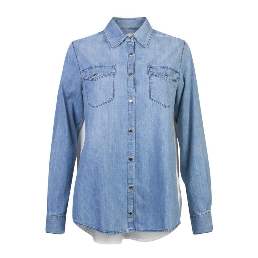 Elisabetta Franchi jeans blouse