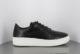 FRANZEL Clean black sneaker